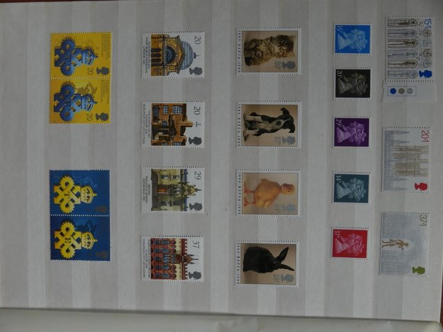 Preview of the first image of Mint Stamps 1969-1970 (Pre-Decimal) and 1984-1998 (Decimal).