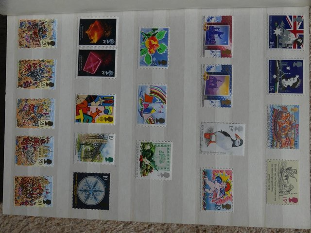 Image 3 of Mint Stamps 1969-1970 (Pre-Decimal) and 1984-1998 (Decimal)
