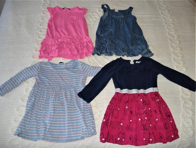Preview of the first image of 37 Girls Dresses, Skirts, Tops, Trousers, Fancy Butterfly Dr.