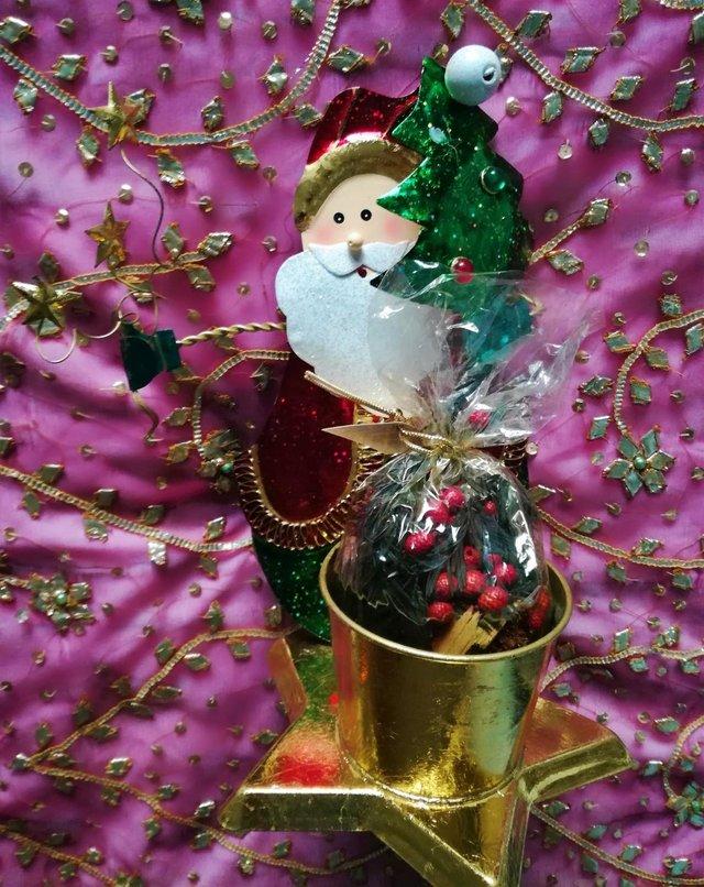Image 3 of NEW FATHER CHRISTMAS AROMATIC Decoration Tree Star Santa