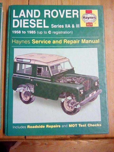 Preview of the first image of LAND ROVER series 2a and 3 HAYNES MANUAL.