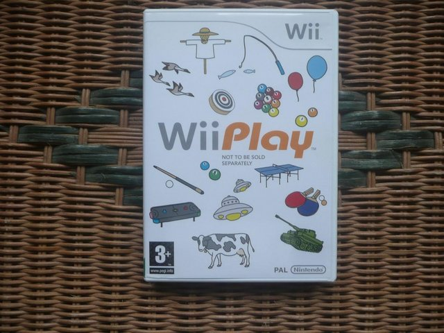 Image 3 of Nintendo Wii console and Wii Play disc