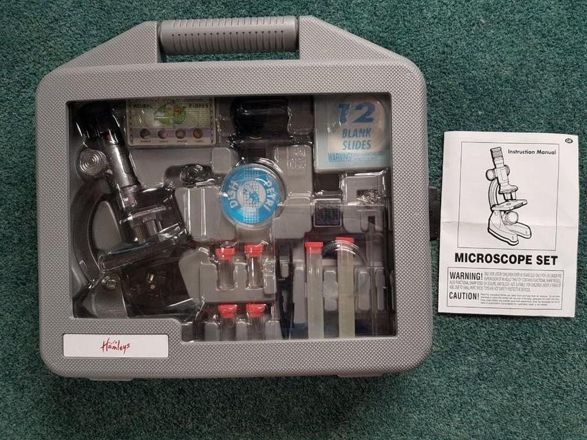 Preview of the first image of Hamleys Toy Microscope Science kit - Brand new.