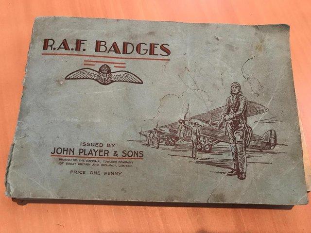 Image 2 of RAF Original Cigarette Cards with Books