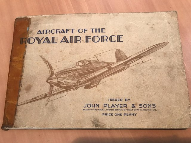 Image 3 of RAF Original Cigarette Cards with Books