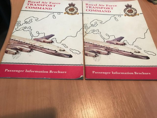 Preview of the first image of Two RAF Transport CommandPassenger Information Brochures.
