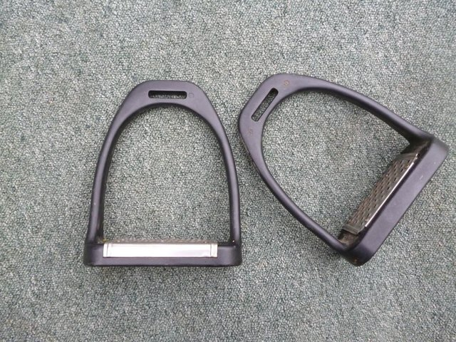 Preview of the first image of Large Composite cheese grater stirrups.