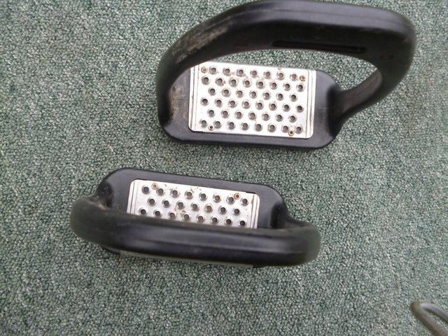 Image 3 of Large Composite cheese grater stirrups