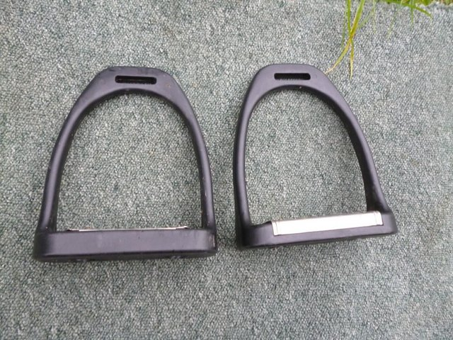 Image 4 of Large Composite cheese grater stirrups