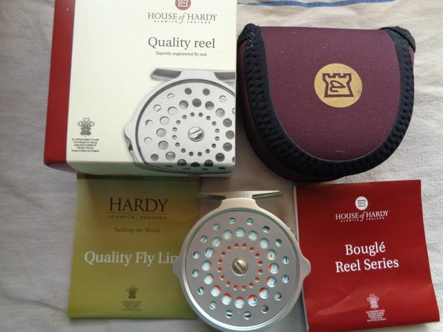 Image 3 of FLY FISHING TACKLE Retirement saleHARDY RODS REELS