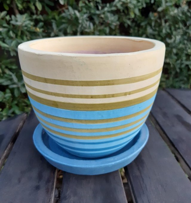 Preview of the first image of PLANT POT & SAUCER John Lewis NEW.