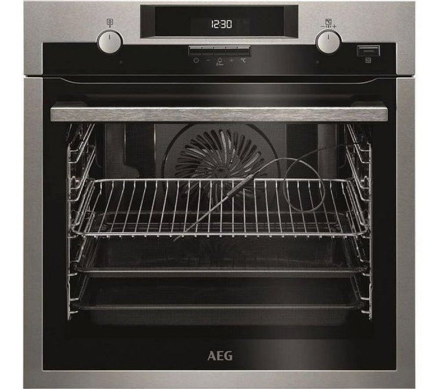 Preview of the first image of AEG STEAMBAKE PYROLYTIC SINGLE OVEN-FOOD PROBE-S/S-FAN-WOW.