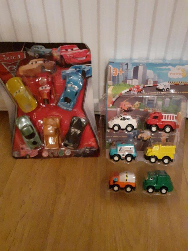Image 7 of BOYS Super Hero Toy Box Including Toys
