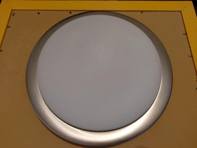 Preview of the first image of Elegant Glass Ceiling LightFixture Cover Shade.