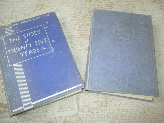 Image 2 of King George V Silver Jubilee books