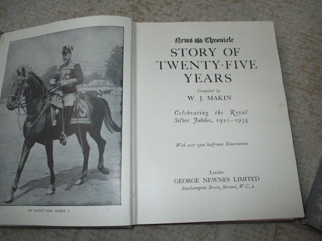 Image 3 of King George V Silver Jubilee books