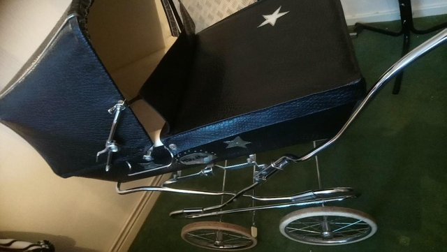 Preview of the first image of COACHBUILT PRAM.