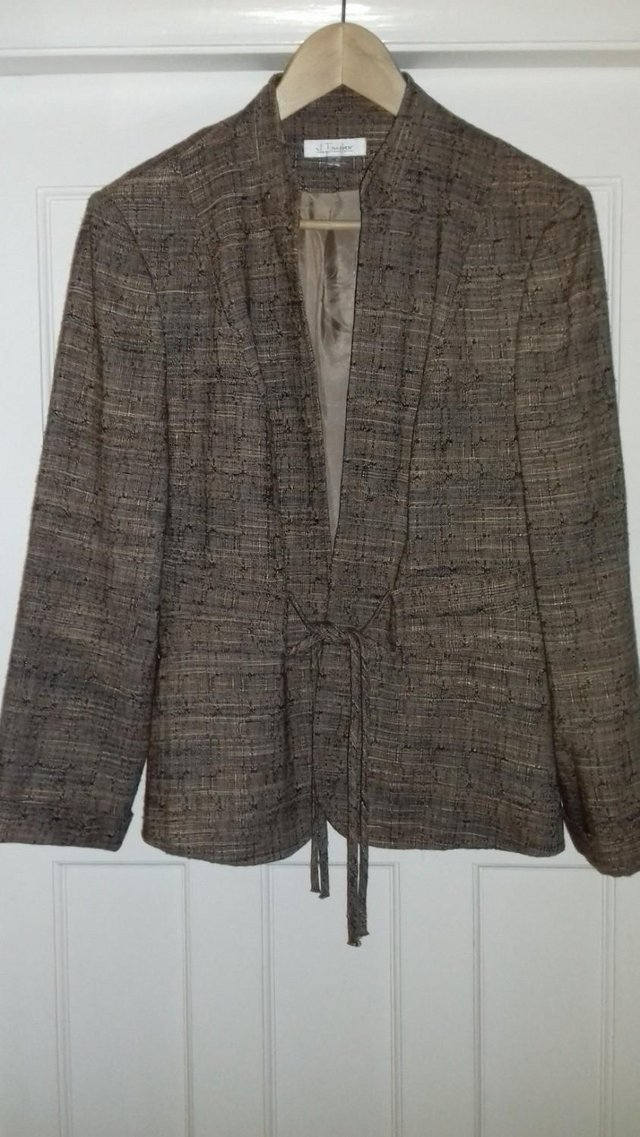 Preview of the first image of J. Taylor jacket size 16.