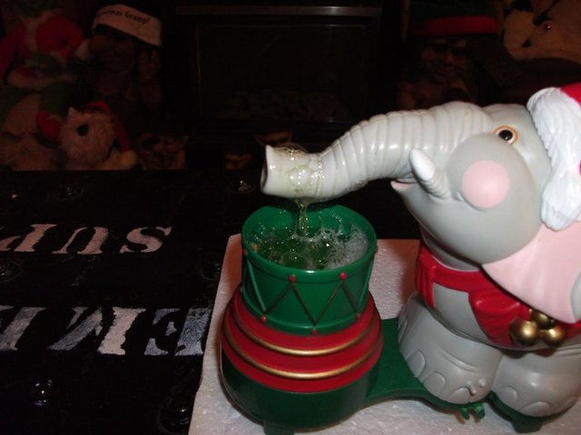 Image 4 of Edgar The Bubble Blowing Christmas Elephant