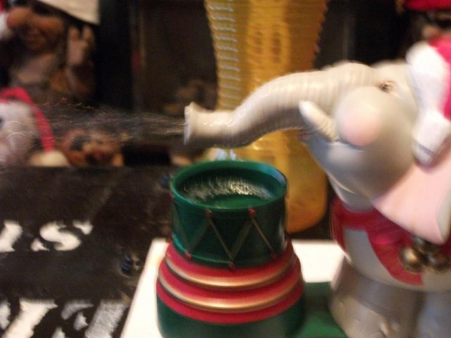 Image 6 of Edgar The Bubble Blowing Christmas Elephant