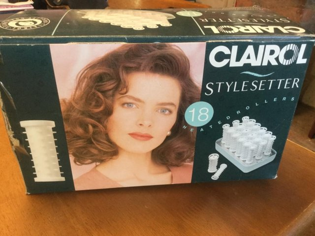 Preview of the first image of Clairol Heated Rollers.