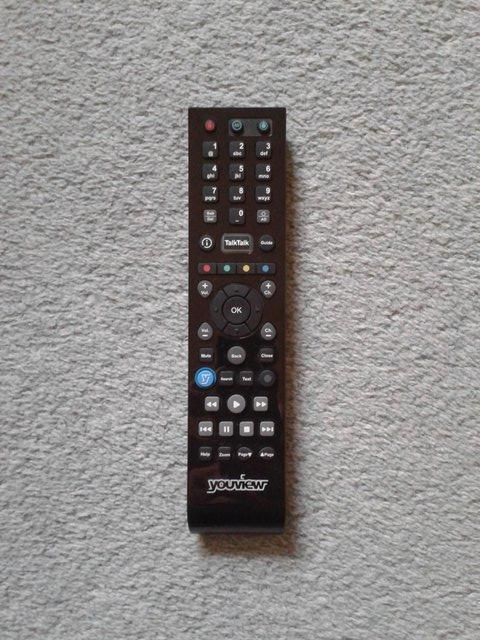 Preview of the first image of TalkTalk YouView Remote Control URC179251-02R00.