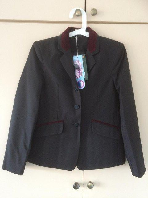 Preview of the first image of CHILDS DUBLIN ATHERSTONE BLACK SHOW JACKET SIZE 14/30in-NEW.
