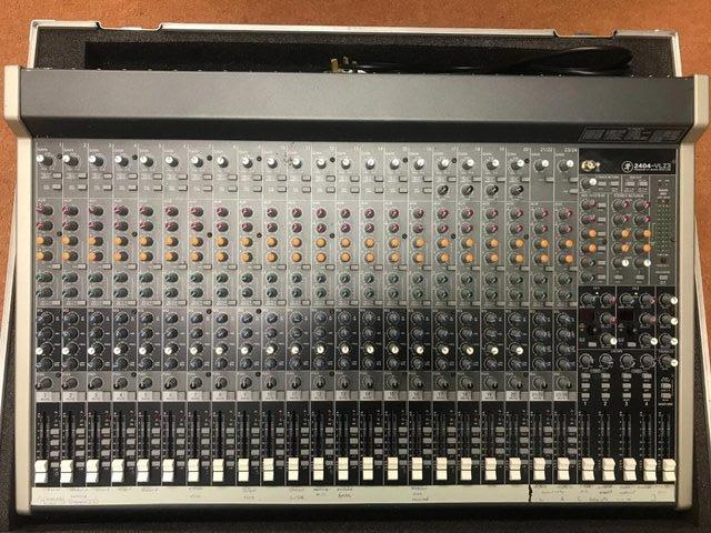 Preview of the first image of Mackie 2404 VLZ4 Compact Mixer.