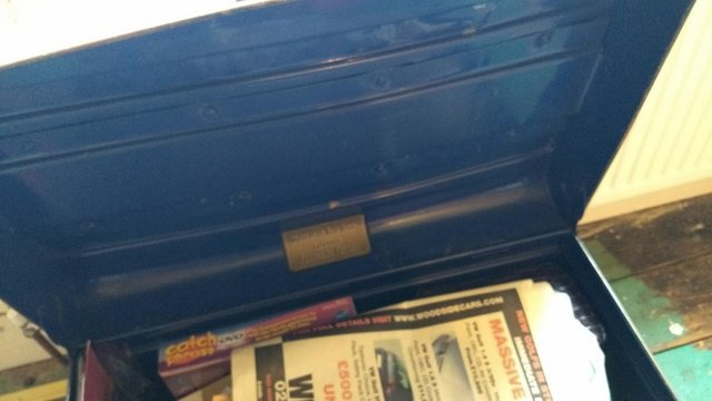 Preview of the first image of Slightly Battered but in Good Order Travel Trunk.