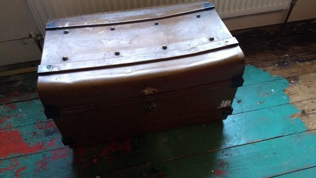 Image 2 of Slightly Battered but in Good Order Travel Trunk