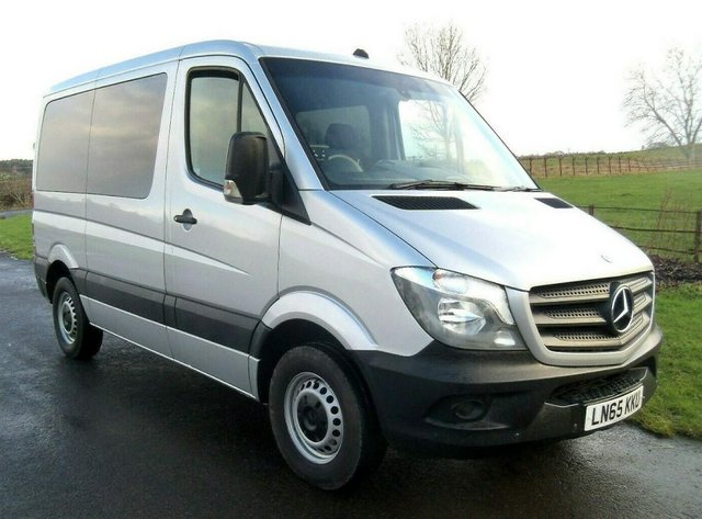 Preview of the first image of MERCEDES SPRINTER AUTO DRIVE FROM WHEELCHAIR LIFT PARAVAN.