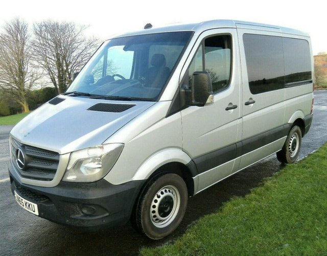 Image 2 of MERCEDES SPRINTER AUTO DRIVE FROM WHEELCHAIR LIFT PARAVAN
