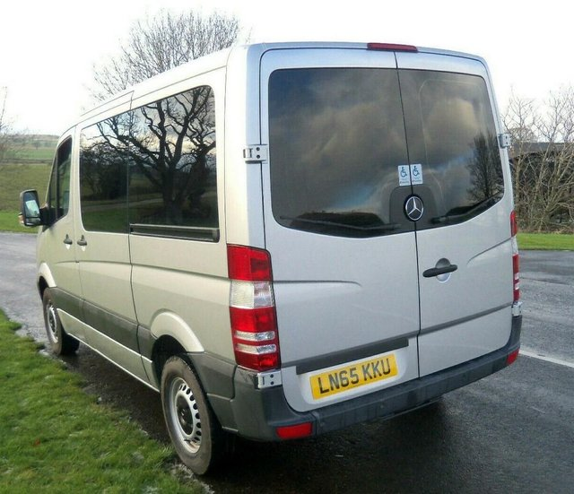 Image 3 of MERCEDES SPRINTER AUTO DRIVE FROM WHEELCHAIR LIFT PARAVAN