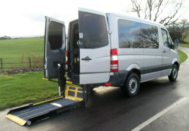 Image 4 of MERCEDES SPRINTER AUTO DRIVE FROM WHEELCHAIR LIFT PARAVAN