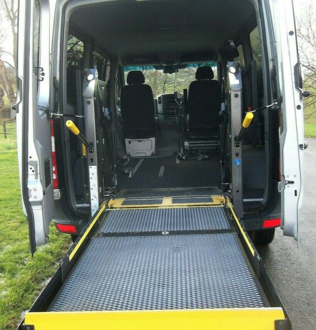 Image 5 of MERCEDES SPRINTER AUTO DRIVE FROM WHEELCHAIR LIFT PARAVAN