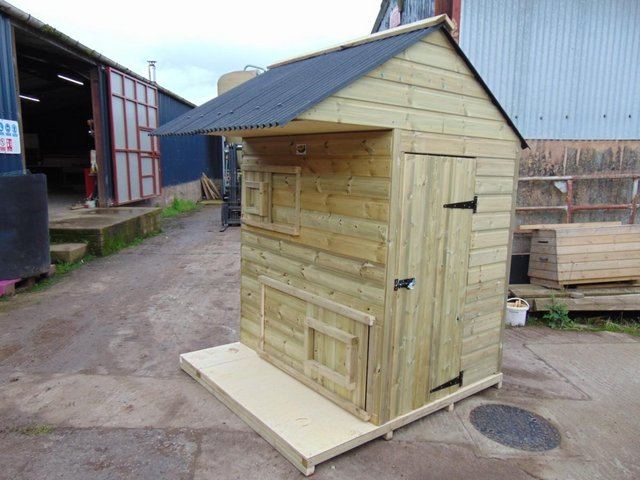 Preview of the first image of Pygmy Pad - goat house - Wynnes of Dinmore.