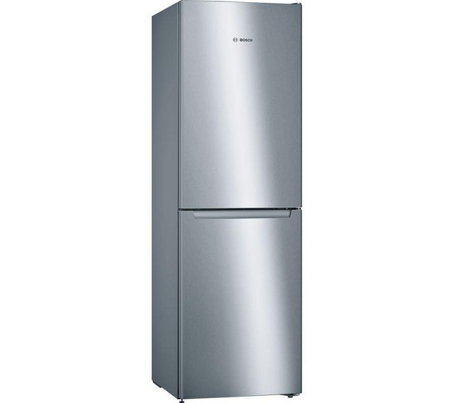 Preview of the first image of BOSCH SERIE 2 50/50 SILVER FRIDGE FREEZER- EX DISPLAY- WOW.