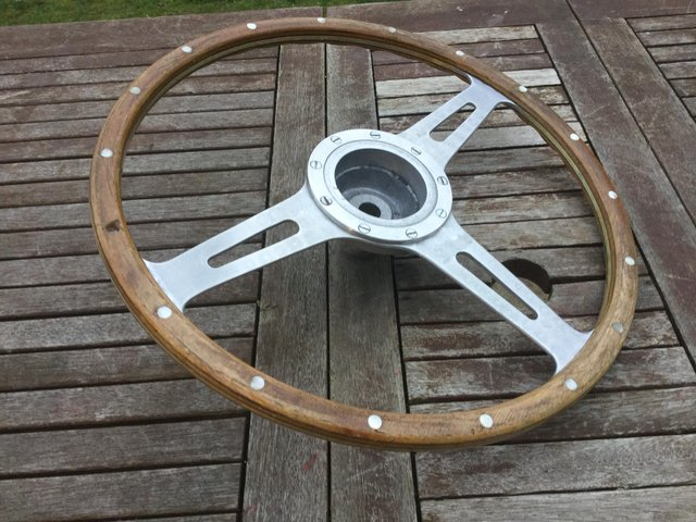 Image 6 of Mini Cooper S steering wheel original 1960s