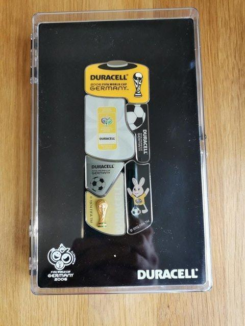 Preview of the first image of Duracell 2006 FIFA World Cup Pin Badge Collection.