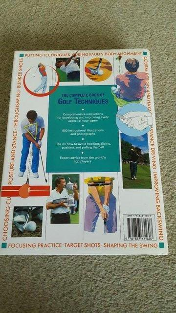 Image 2 of The Complete Book of Golf Techniques by Paul Foston