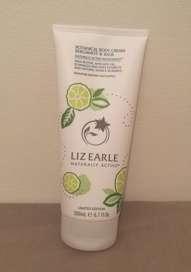Preview of the first image of Liz Earle Bergamot & Basil Body Cream 200ml.