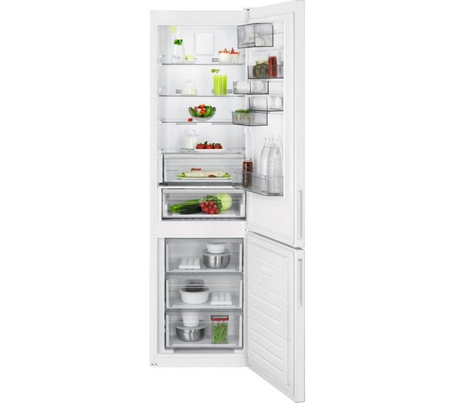 Preview of the first image of AEG 60/40 WHITE FRIDGE FREEZER-FROST FREE-EX DISPLAY-WOW.