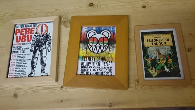 Preview of the first image of 3 wooden framed prints.