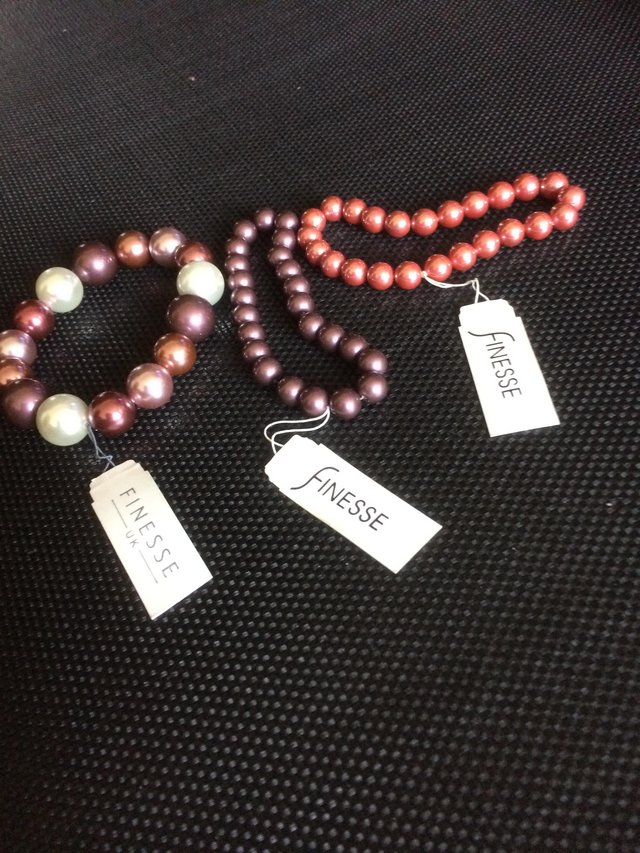 Preview of the first image of Bag of brand new beautiful bracelets!.