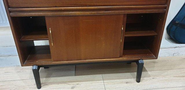 Image 3 of VintageMid century bureau / writing desk