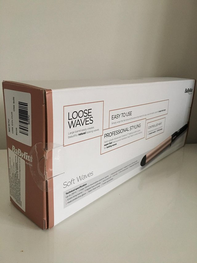 Preview of the first image of Babyliss Soft Waves Hair Curlers.