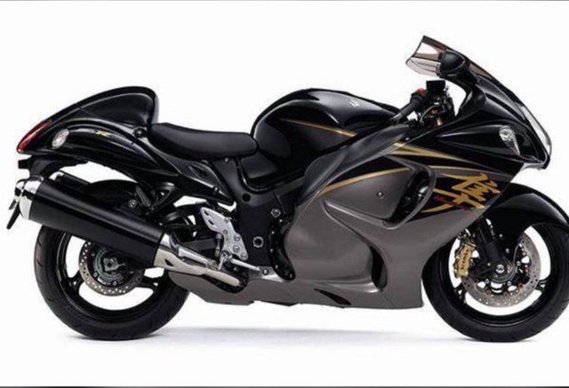 Preview of the first image of SUZUKI GSXR 1300R ORIGINAL EQUIPMENT SILENCERS.
