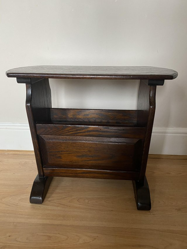 Preview of the first image of Jaycee Magazine Rack / Side Table Old Charm Style.