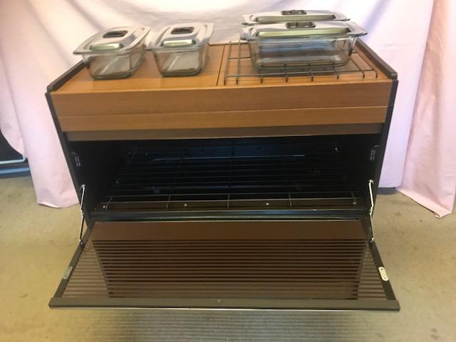Preview of the first image of Philips Vintage Hostess Trolley Food Warmer.