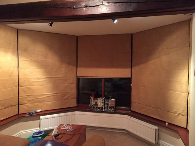 Image 2 of Roman Blinds for two bay windows x10 total, price each